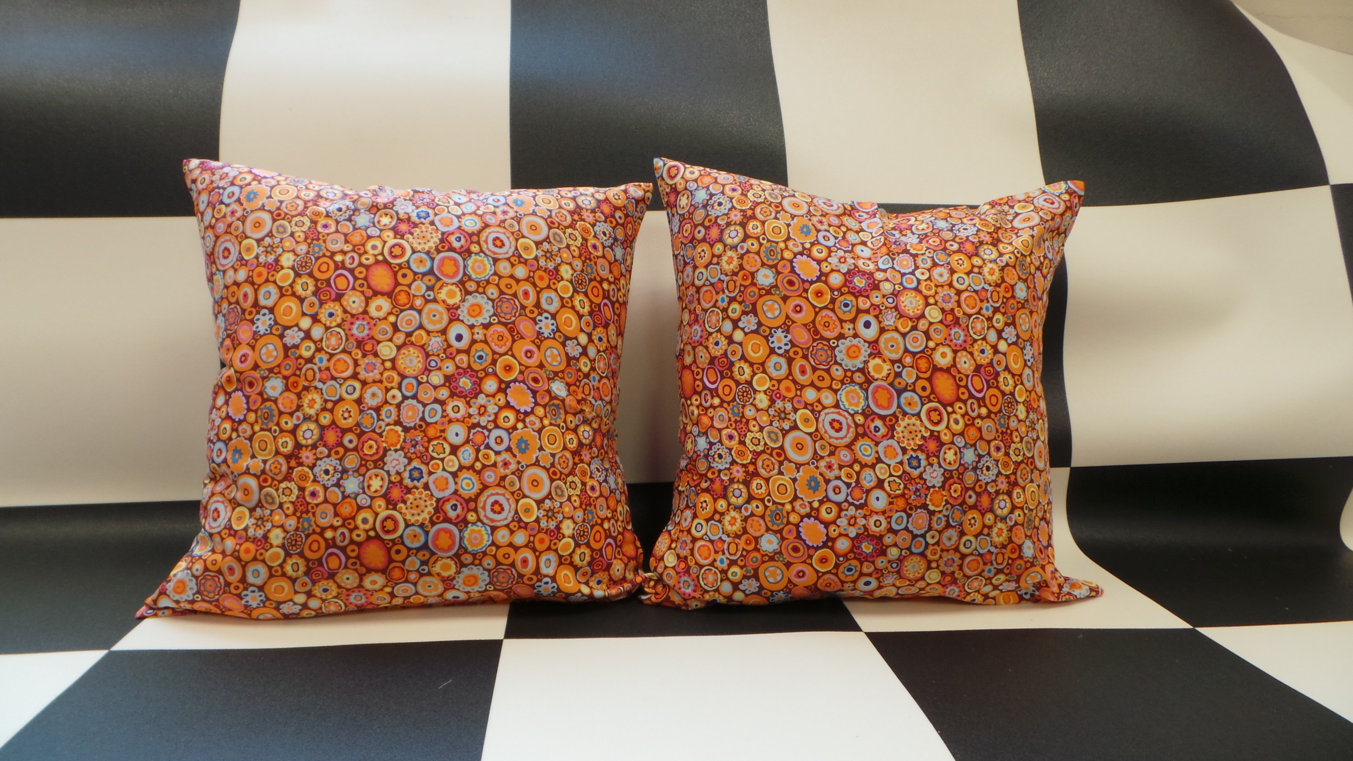 Campervan Curtains and Cushions - Ready to Go