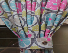 Campervan Curtains and Cushions