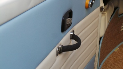 Classic Vinyl Front Door Cards VW Bay Window