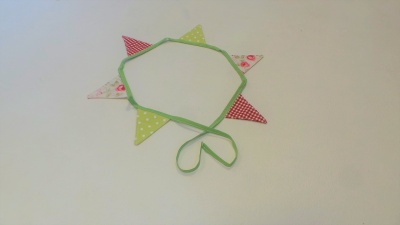 1 metre Mini Bunting set - Vintage style - set 8