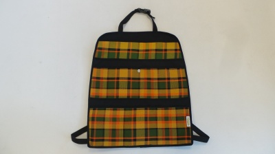 T5 / T6 Hanging seat storage - Westfalia Yellow Plaid
