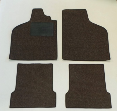 Type 3 - square - notch back over mats - Square weave