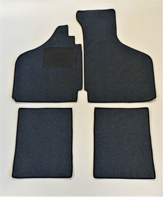 Karmann Ghia 4 Piece overmat set - Left Hand Drive - Dark Blue