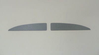 ABS Split Screen Panel for behind Sun Visors