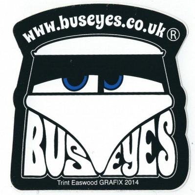 Buseyes VW Camper graphic