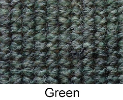 Green German Square Weave Carpet by Madmatz