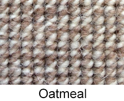 Oatmeal German Square Weave by Madmatz