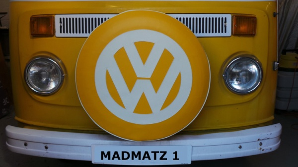 Spare Wheel Cover Madmatz