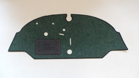 Narrow Weave Split Screen Cabmat - '61-67 RHD