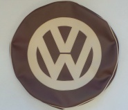 Oak & Light Beige VW Spare wheel cover