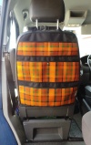 T5 / T6 Hanging seat storage - Westfalia Orange Plaid