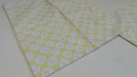 Lime Green Daisy Cushion covers