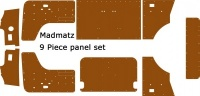 Bay Oil Tempered Trim Panel Set