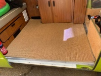 Bay Window Westfalia Berlin Sisal Cargo Carpet