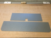 ABS Split Screen Tailgate Panel