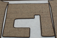 Sisal Split Screen Centre Mat