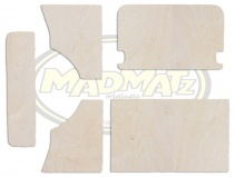Bay Window Plywood Rear Panel Set