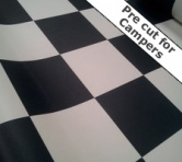Checker Vinyl Flooring