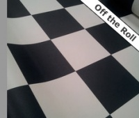 Checker Vinyl Flooring Cut Lengths