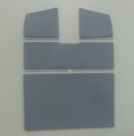Split Screen 8 piece roof panel set - Double cab