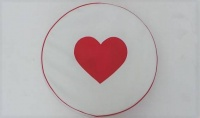 Spare Wheel Cover with heart