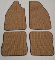 Sisal Over Mats for Classic Beetle